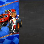 Convite Blaze and the Monster Machines 6