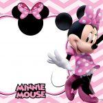 Convite Infantil Festa Minnie Rosa