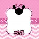 Convite Minnie Rosa 2