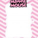Convite Minnie Rosa 6
