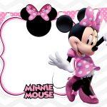 Convite Infantil Minnie Rosa 7