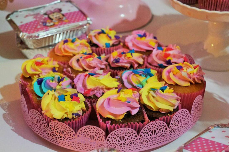 Cupcakes Festa Minnie Baby da Maria