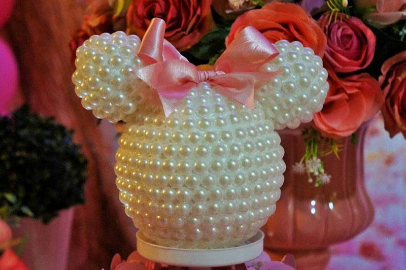 Decoração 2 Festa Minnie Baby da Maria