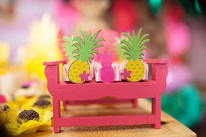 Festa Infantil Tropical Chic da Geovanna 13