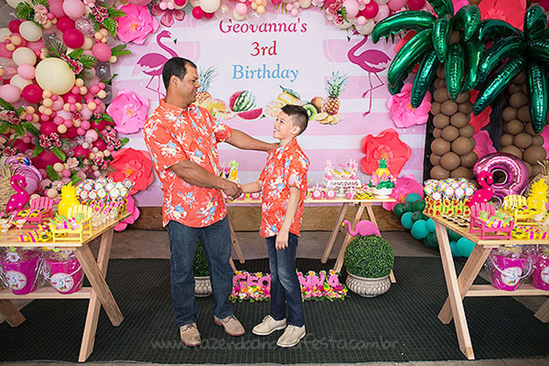 Festa Infantil Tropical Chic da Geovanna