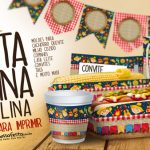 Mini Kit Festa Junina Moldes Especiais para Imprimir