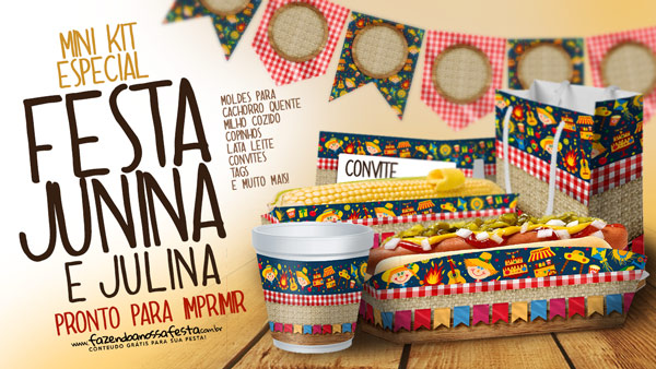 Mini Kit Festa Junina