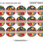 Mini Kit Festa Junina Toppers