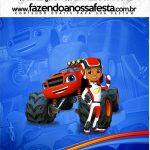 Mini Pastilha Docile Blaze and the Monster Machines