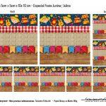 Moldes Especiais Quadrados Festa Julina