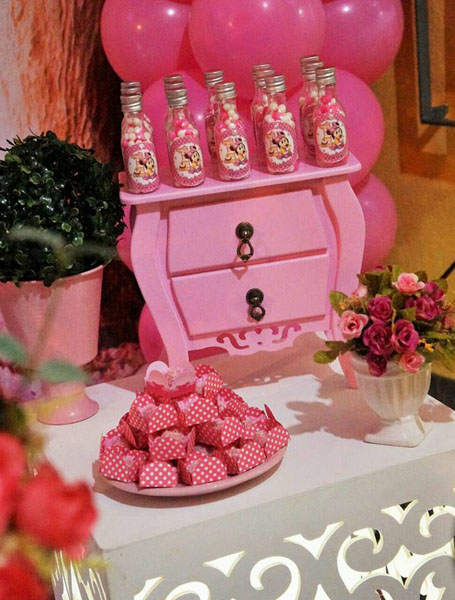 Personalizados Festa Minnie Baby da Maria
