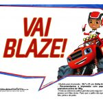 Plaquinha Blaze and the Monster Machines 5
