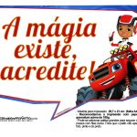 Plaquinha Blaze and the Monster Machines 8