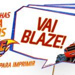 Plaquinha Blaze and the Monster Machines Modelo