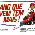 Plaquinhas divertidas Blaze and the Monster Machines 10