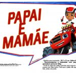 Plaquinhas divertidas Blaze and the Monster Machines 11