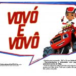Plaquinhas divertidas Blaze and the Monster Machines 12