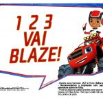 Plaquinhas divertidas Blaze and the Monster Machines 13