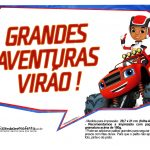 Plaquinhas divertidas Blaze and the Monster Machines 14