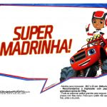 Plaquinhas divertidas Blaze and the Monster Machines 15