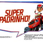 Plaquinhas divertidas Blaze and the Monster Machines 16