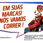 Plaquinhas divertidas Blaze and the Monster Machines 17