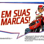 Plaquinhas divertidas Blaze and the Monster Machines 18