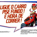 Plaquinhas divertidas Blaze and the Monster Machines 2