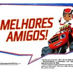 Plaquinhas divertidas Blaze and the Monster Machines 20