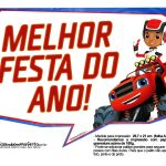 Plaquinhas divertidas Blaze and the Monster Machines 21