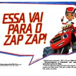 Plaquinhas divertidas Blaze and the Monster Machines 8
