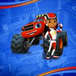 Quebra cabeca Blaze and the Monster Machines Kit Festa