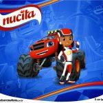 Rótulo Creminho Nucita Blaze and the Monster Machines
