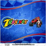Rótulo Mini Trakinas Blaze and the Monster Machines