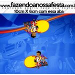 Saquinho de balas Blaze and the Monster Machines Kit Festa