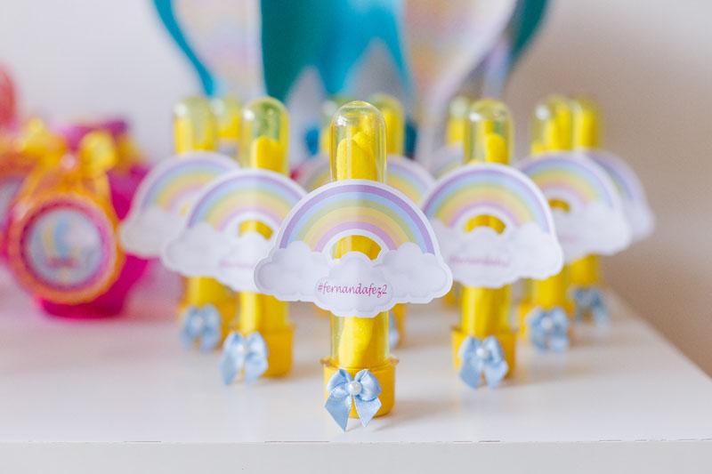 Tubetes Festa Infantil Balões da Fernanda
