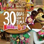 30 Ideias para Festa Masha e o Urso
