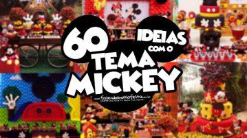 60 Ideias para Festa Mickey Mouse