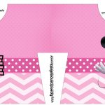 Caixa Camisa Minnie Rosa