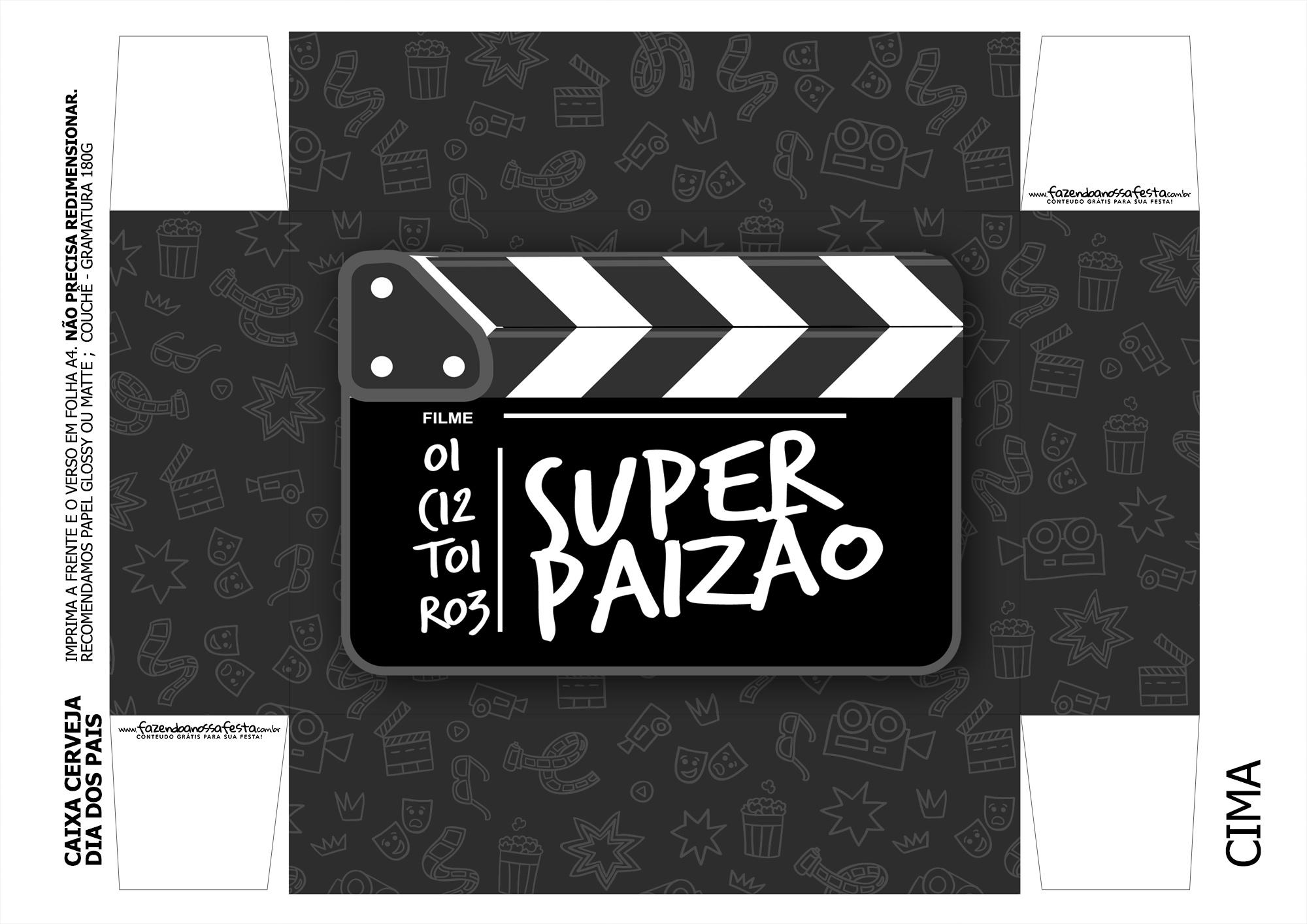 Caixa Cerveja Dia dos Pais Super Paizao o Filme - parte 3
