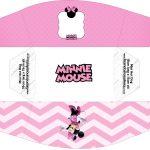 Caixa Mini Cachorro quente Minnie Rosa