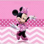 Cartão Minnie Rosa