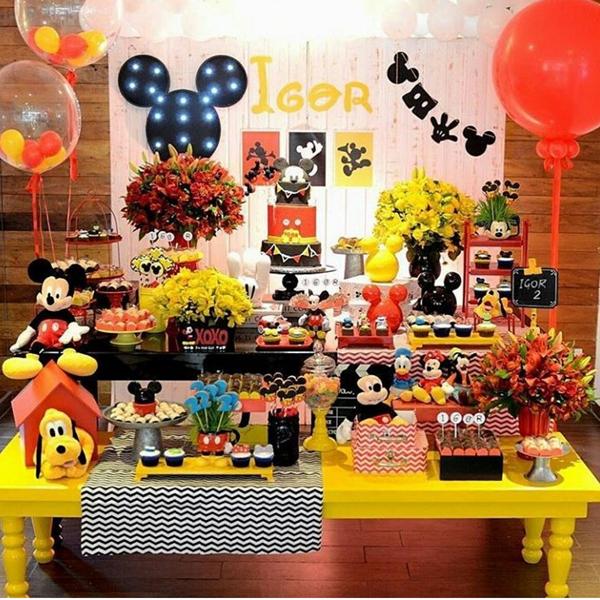 Créditos: @Claytonflores16 Ideias para Festa Mickey Mouse