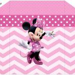 Envelope Convite Minnie Rosa
