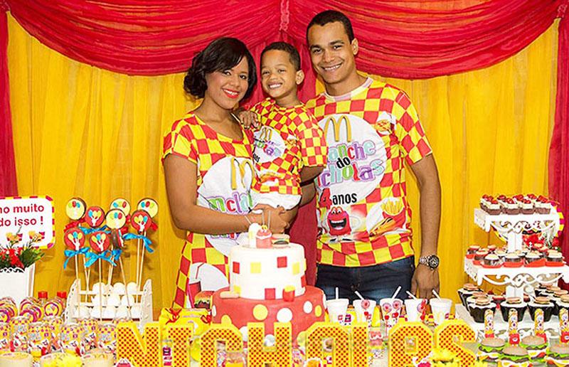 Festa Infantil McLanche do Nicholas 2