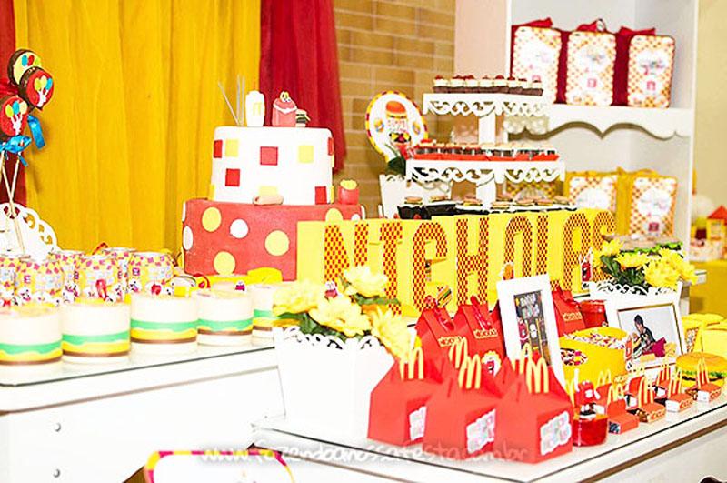 Festa Infantil McLanche do Nicholas 3