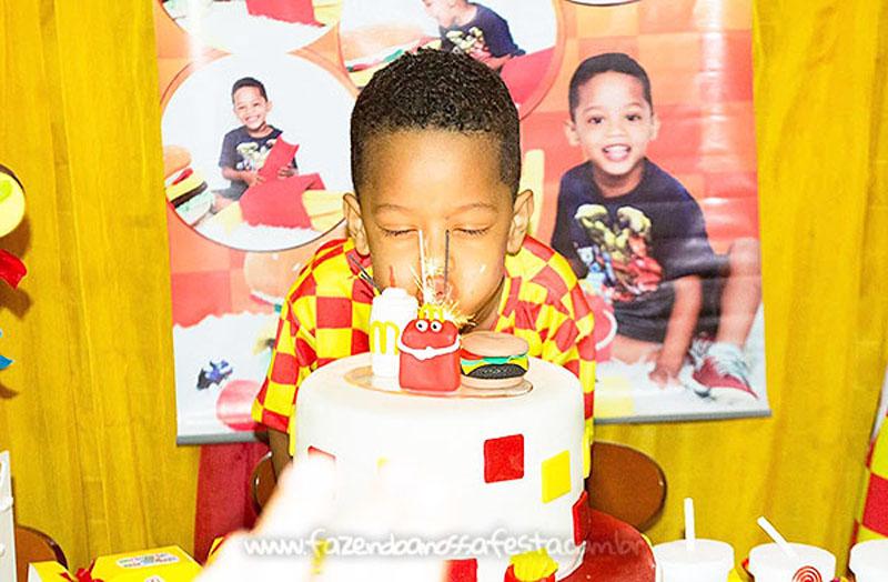 Festa Infantil McLanche do Nicholas 7