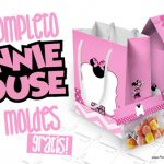 Minnie Rosa Kit Festa Grátis para Imprimir em Casa