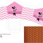 Molde Casinha Minnie Rosa