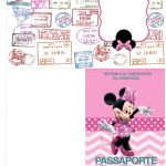 Molde Passaporte Minnie Rosa